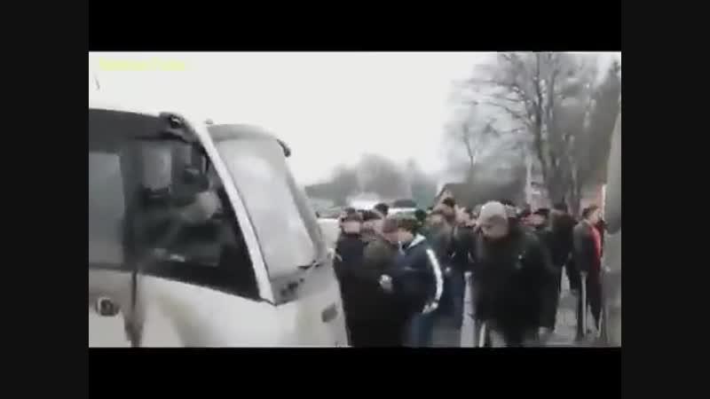 Нападение майдановцев на одесситов Черкасская область 20 февраля 2014 го
