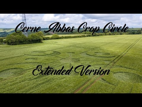 Crop Circle Buckland Down, Cerne Abbas Extended Version