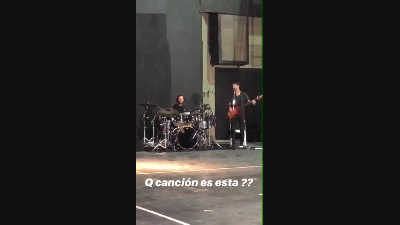 Репетиция Quiero Volver TOUR 8