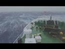 Сильный Шторм в Океане. Корабли в Шторм.