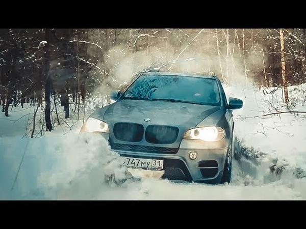 BMW Х5 на бездорожье VW Touareg решил всех порвать Toyota Prado с глушилкой Infiniti QX80
