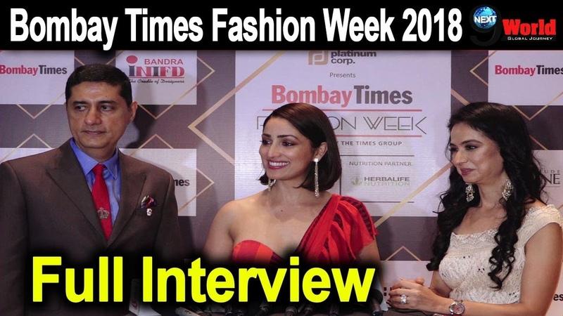 Yami Gautam Interview| Bombay Times Fashion Week | Day 02 | Yami on her Dressing