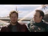 Ракета и Грут ловят Звездного Лорда.Фрагмент из фильма. Стражи галактики. 2014 (хорошее настроение, отрывок, схватка, погоня).