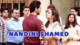 Nandini Shamed at Kunal-Mauli's Society; Kunal Beats Up Rajdeep | Silsila Badalte Rishton Ka