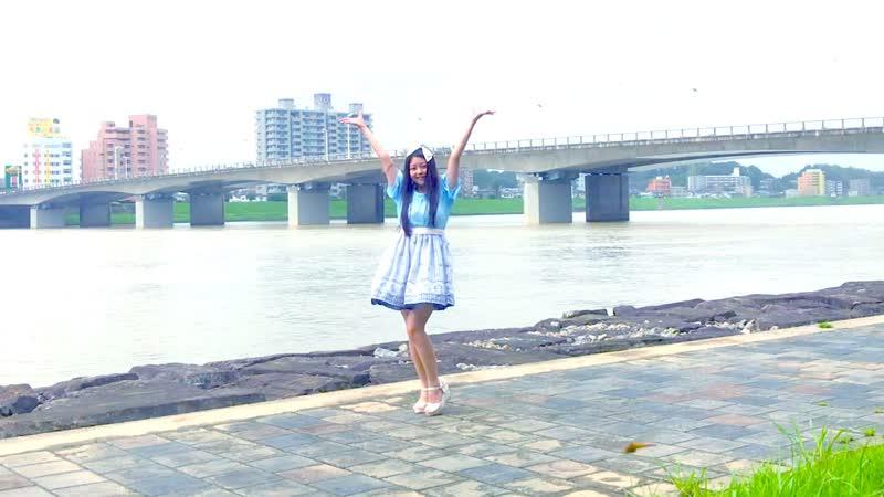 ❥【胡蝶】DEEP BLUE TOWNへおいでよ【踊ってみた】 sm33761306