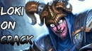 Loki on crack smite montage