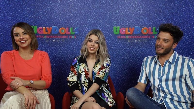 Nerea Rodríguez y Blas Cantó prestan su voz a los 'UglyDolls'