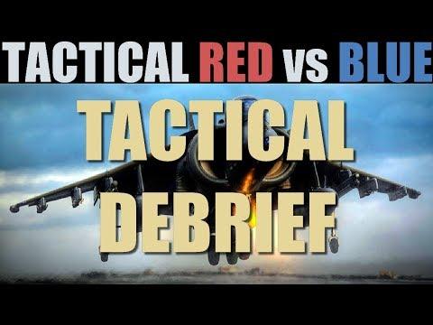 Tactical PvP Red vs Blue 10 vs 10 | Tactical Debrief