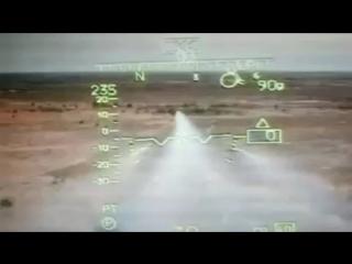 Ми-35 ВВС Нигерии наносит удар по боевикам Боко Харам.