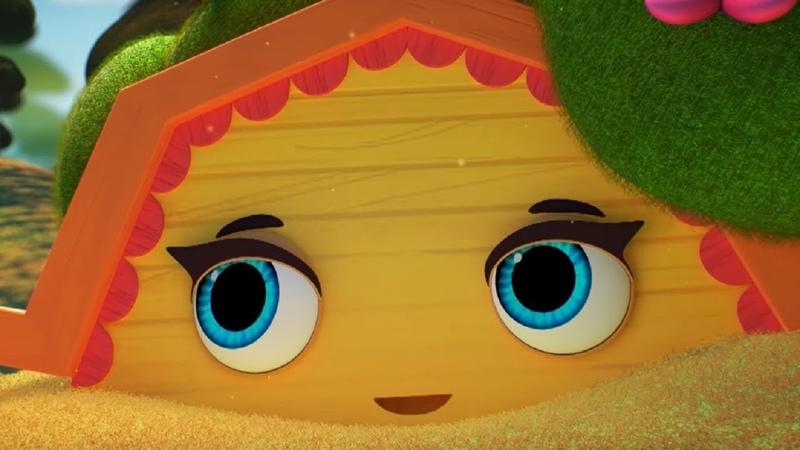 Домики -Землянка– Обучающий мультфильм для детей - о простоте