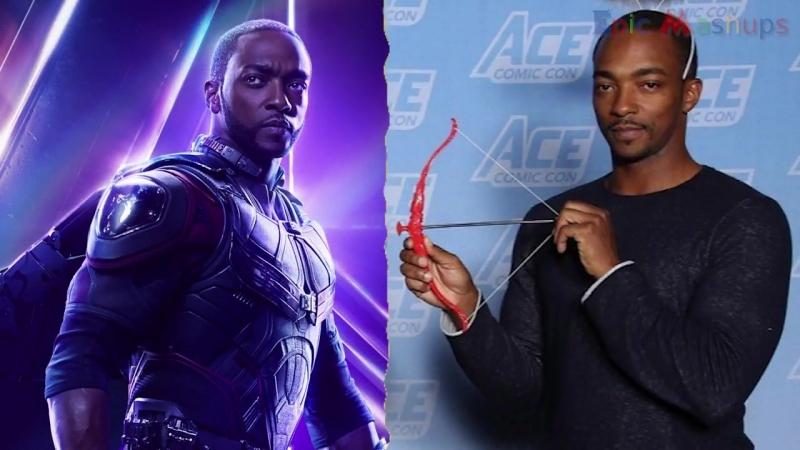Мстители: Война Бесконечности - Как менялись Себастиан Стэн и Энтони Маки / Avengers- Infinity War - Falcon And Bucky