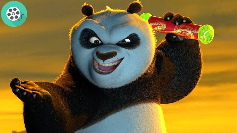 По против Тай Лунга. Битва за свиток. Кунг-фу Панда (2008) год.