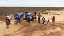 КАМАЗы и МАЗ в песках