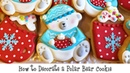 How to Decorate a Polar Bear Cookie