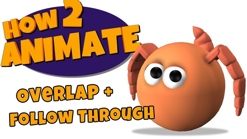 Getting Started in 3D Animation Lesson 03 Overlap and Follow Through HOW 2 ANIMATE