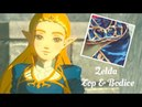 Making of Princess Zelda Cosplay Tutorial Part 1 Top and Bodice