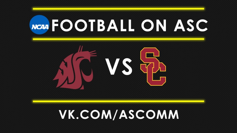 NCAAF Washington State VS USC