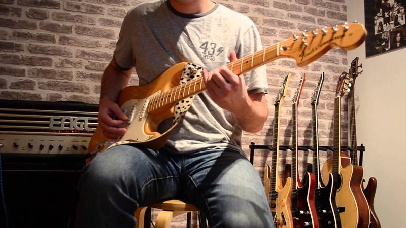 Fender Srat 70s stock pickups vs DiMarzio HS-3