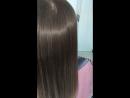 Биопластика на осветленных волосах