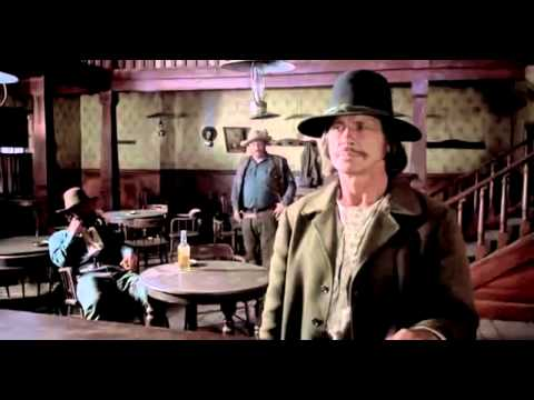 CHATO'S LAND Bronson SALOON Scene 1972