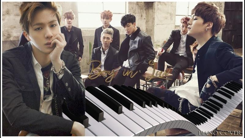 BTS - Boy in luv 상남자 *Piano cover* (rus sub)