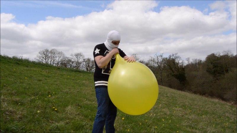 BTP metalic yellow 24 balloon