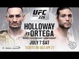 UFC 226  Макс Холлоуэй vs Брайан Ортега титульный бой EA SPORTS UFC 3 ORTEGA vs HOLLOWAY