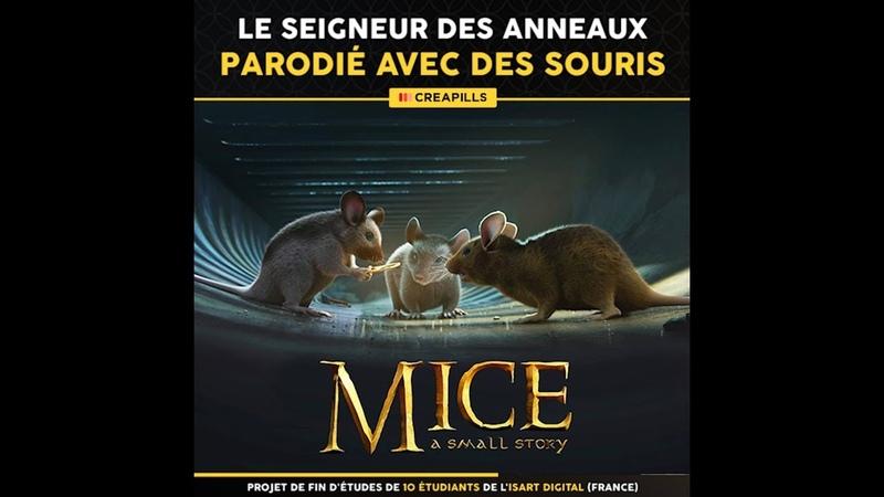 Le Seigneur des Anneaux parodié avec des souris dans le métro parisien