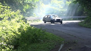 Initial D replica drifting at Gunsai Touge in Japan · #coub, #коуб