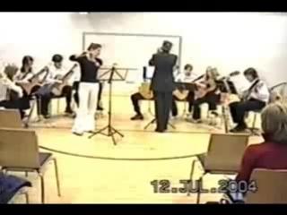 Вилла лобос Ария из Бахианы 5 флейта Е Бренер и ансамбль Анимато