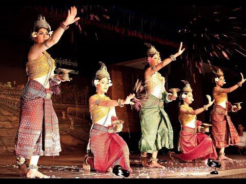 Khmer traditional dancing Камбоджа Кхмерский балет