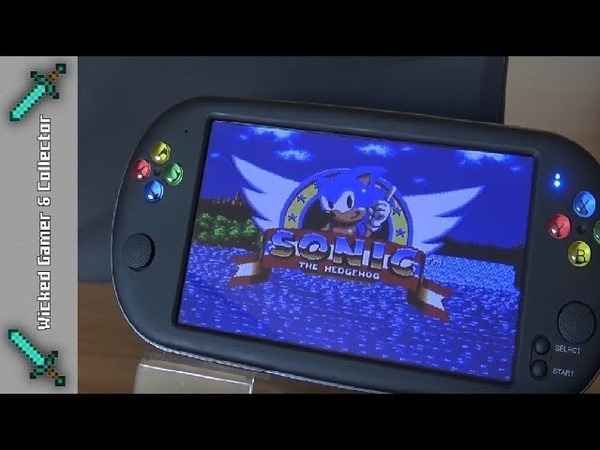 6=Next Generation 7inch X16 Handheld / SEGA 16-bit / Extended Testing Video Review