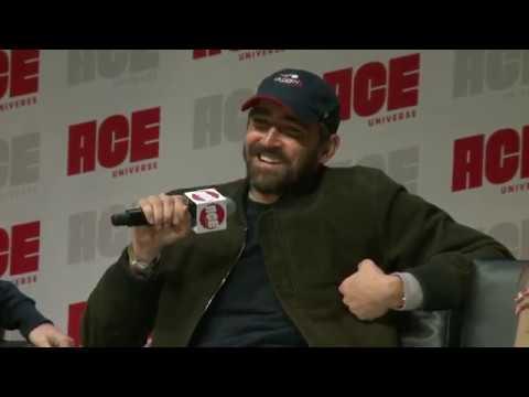 Avengers Panel with Chris Evans, Karen Gillan Lee Pace