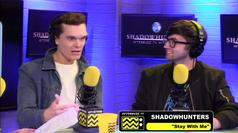 """Luke Baines Guests on Shadowhunters Season 3 Episode 16 """"Stay With Me"""" ¦ AfterBuzz TV"""