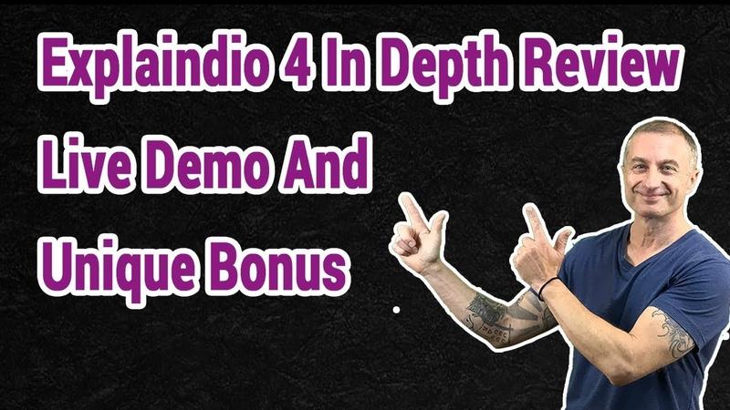 Explaindio 4 In Depth Review Live Demo And Unique Bonus