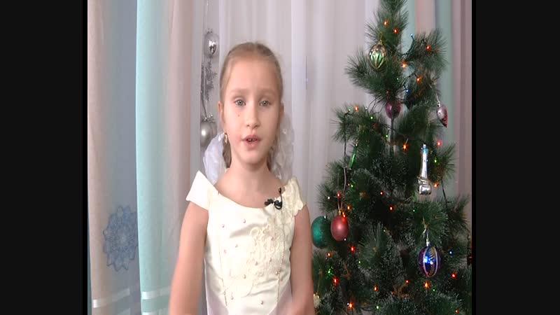 На конкурс Новогодняя звезда Участница № 96 Эндже Ганеева 6 лет В защиту Деда Мороза