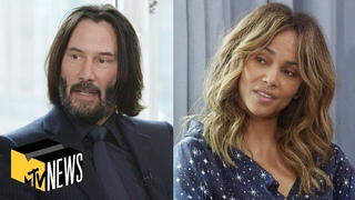 Keanu Reeves & Halle Berry on Making 'John Wick: Chapter 3 - Parabellum'   MTV News
