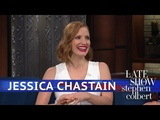 Jessica Chastain Is Learning Dirty Italian Words
