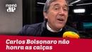 Carlos Bolsonaro não honra as calças que veste e se ausenta de votação contra Crivella Villa