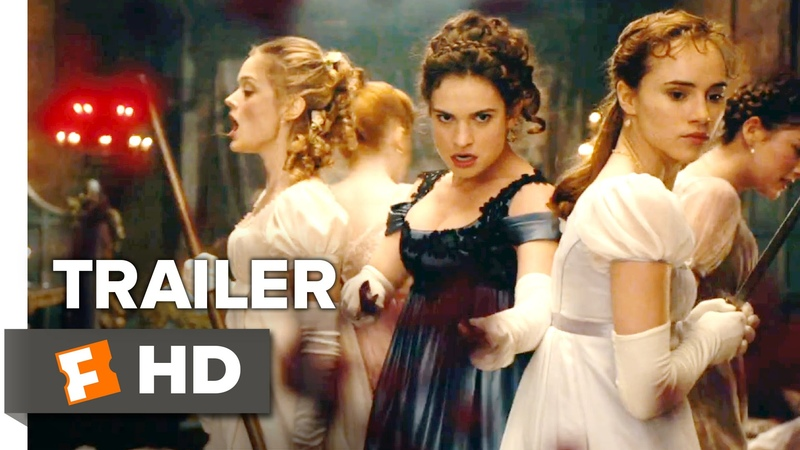 Pride and Prejudice and Zombies Official Bloody Good Trailer (2016) - Lily James Movie HD