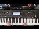 Improvisation KORG PA4X Joe Dassin - L`ete Indien