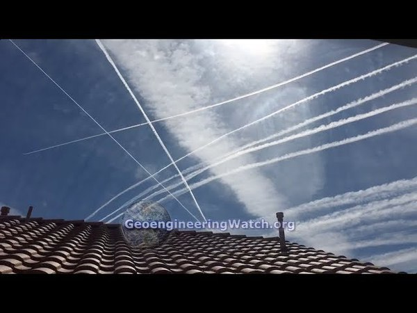 Film Footage Captures Completely Insane Climate Engineering Operations Over Las Vegas, Nevada