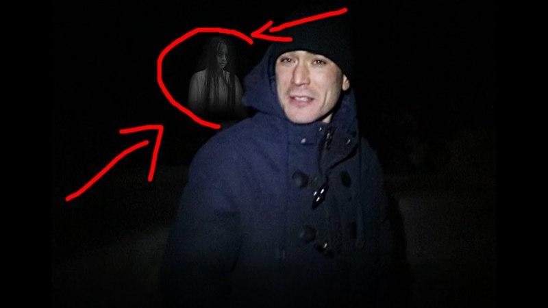 Рустам снял Призрака на кладбище - GhostBuster Рустам Тв