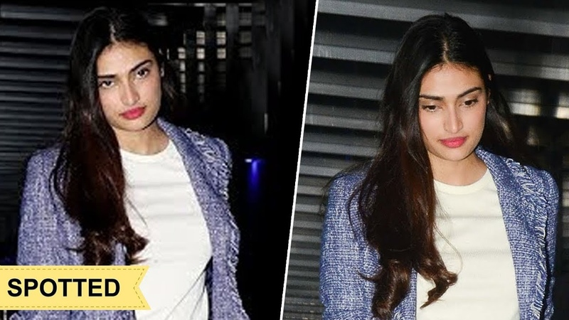 Athiya Shetty SPOTTED At Hakkasan For Dinner