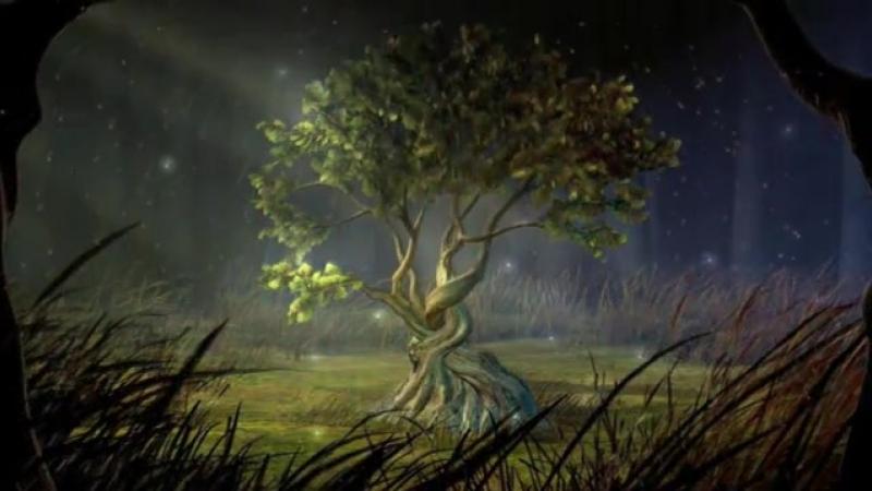 Футаж Дерево 1