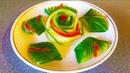 Лайфхаки украшения блюд Как красиво нарезать овощи и оформить праздничный стол Карвинг огурец
