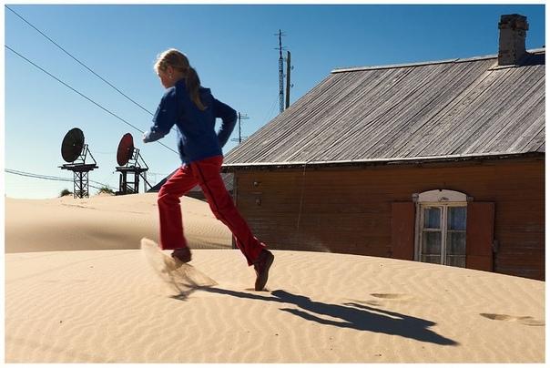 Самая Северная пустыня в мире Находится в России.Село Шойна было основано в 1933 году неподалеку от устья одноименной реки, впадающей в Белое море. Через 20 лет здесь был процветающий колхоз с