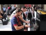 Случайный дуэт на парижском вокзале