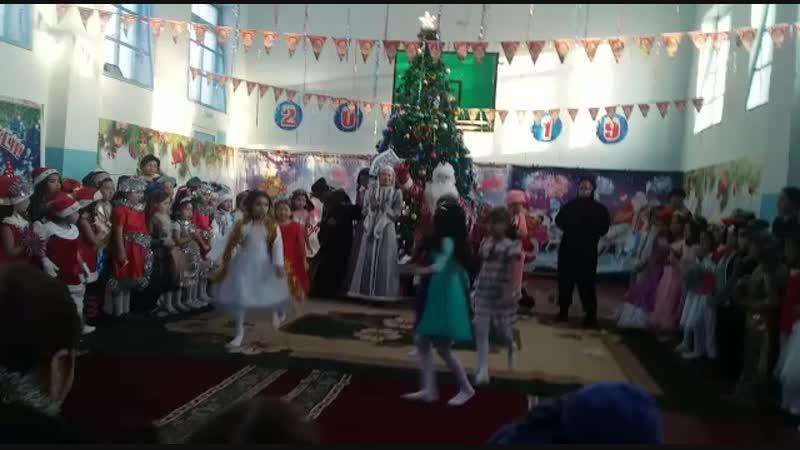 Жаңа жылдағы Хафанана биі