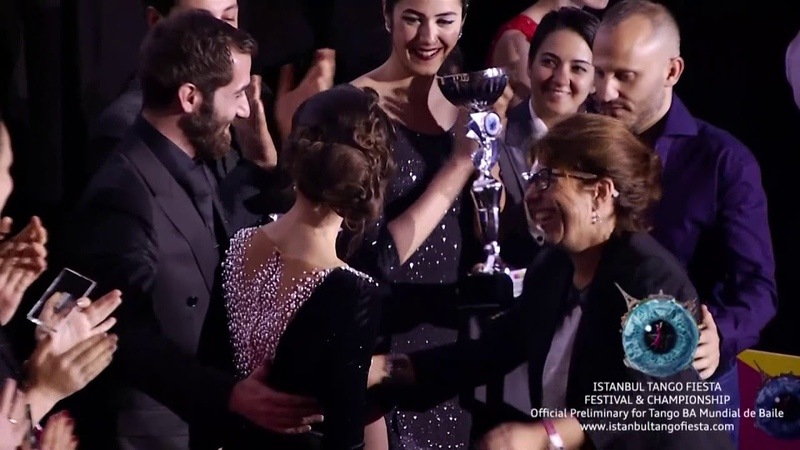 Istanbul Tango Fiesta 2017 - Mundial de Baile Preliminary Award's Ceremony